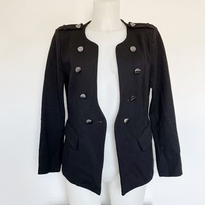 LUII ANTHROPOLOGIE black blazer Size M